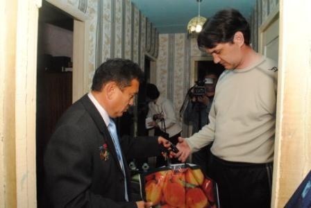 Илюс Акберов и Геннадий Владимирович